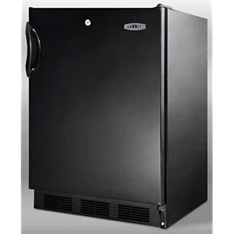 Summit AL752LBL Refrigerator Black