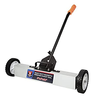 """Neiko Heavy Duty 24"""" Magnetic Sweeper Metal Pickup Tool with Quick Release Adjustable Height from Neiko"""