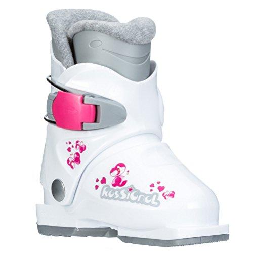 - Rossignol R18 Girls Ski Boots - 17.5/White