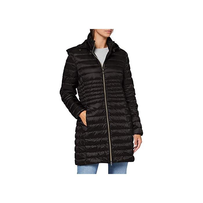 41VIcSppj1L Abrigo de pluma ultraligero y cálido, para el comienzo de la temporada, femenino y funcional 100% Anual Cierre: Con tapa.