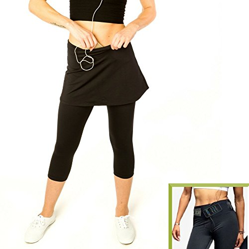 Sport Womens Pockets Running Leggings product image