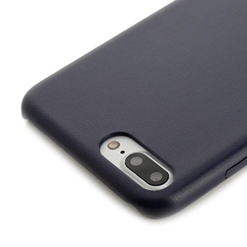 """iPhone 8 Plus / 7 Plus Hülle, Arktis """"iCeo"""" Case - Nachtblau"""
