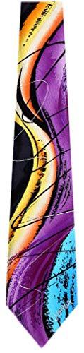JG-7059 - Jerry Garcia Designer Silk Necktie - Garcia Necktie Tie