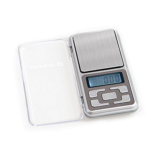 ONECES High Accuracy Mini Electronic Digital Pocket Scale Jewelry Pocket Balance Electronic Weighing Scale 500g//0.1g Counting Function Blue LCD g//tl//oz//ct