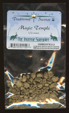 Magic Temple - 1/3 Ounce - Resin Incense - Spicy and Exotic Aroma - incensecentral.us