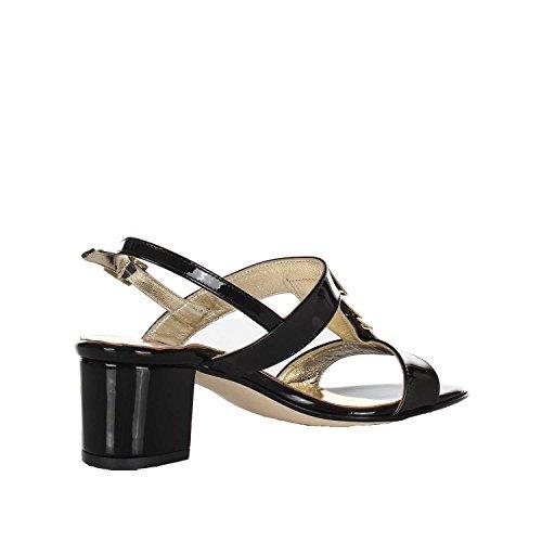 blanco de vestir negro Sandalias 38 de Piel VALLEVERDE mujer blanco para q87C55Ww