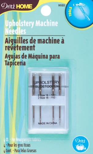 Upholstery Dritz (Dritz 9022 Upholstery Machine Needle, 4-Pack)