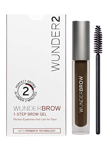 Wunderbrow - The Perfect Eyebrows That Last for Days in Under 2 Minutes - Black/brown - Lancome Angle Shadow Brush
