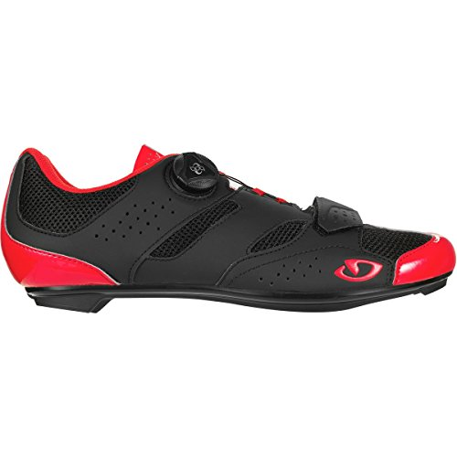 Giro Savix Cycling Shoes - Men's Bright Red/Black 43 (Bike Mens Shoes Red)
