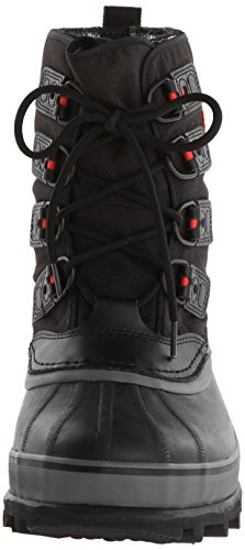 Sorel Caribou XT, Stivali da Neve Uomo Nero (Black, Shale 010black, Shale 010)