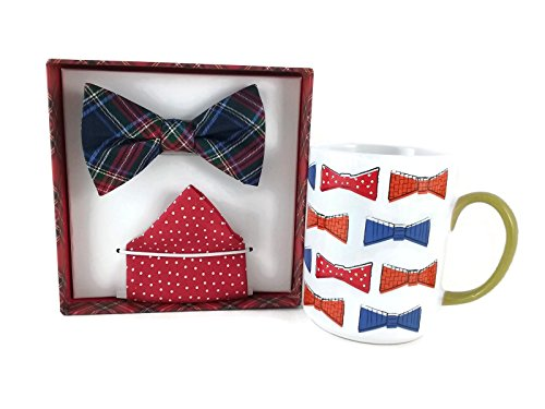 Bow Tie and Mug Gift Bundle: One Izod