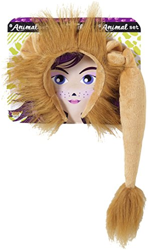 Forum Novelties Women's Lion Costume Accessory Kit, Multi, One Size (Tiger Costume Adults)