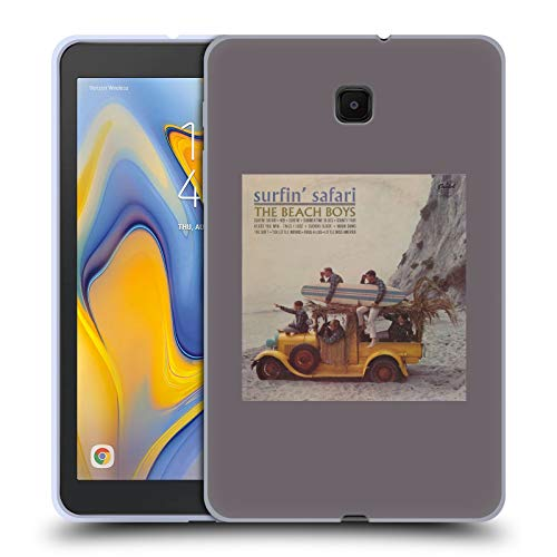 Official The Beach Boys Surfin Safari Album Cover Art Soft Gel Case Compatible for Galaxy Tab A 8.0 (2018)