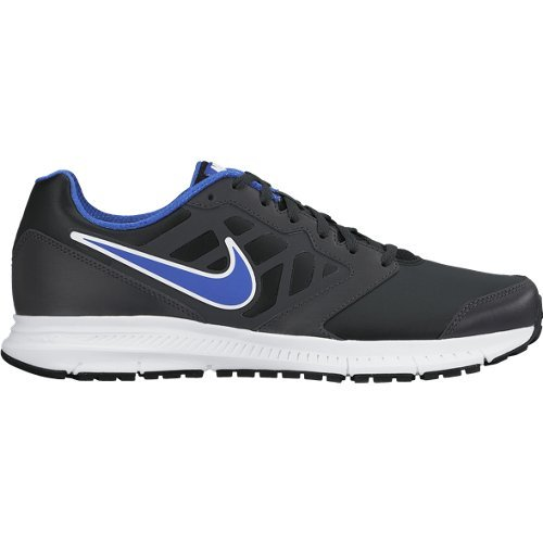 Nike Downshifter 6 LEA - Zapatillas de running unisex, color negro / azul / blanco