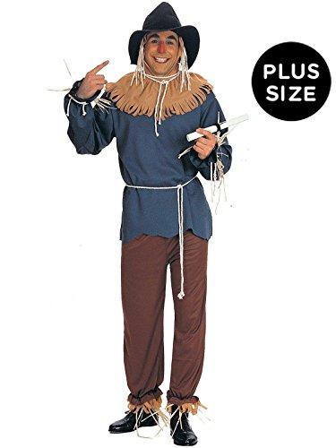 Wizard Of Oz Scarecrow Costume, Tan, -
