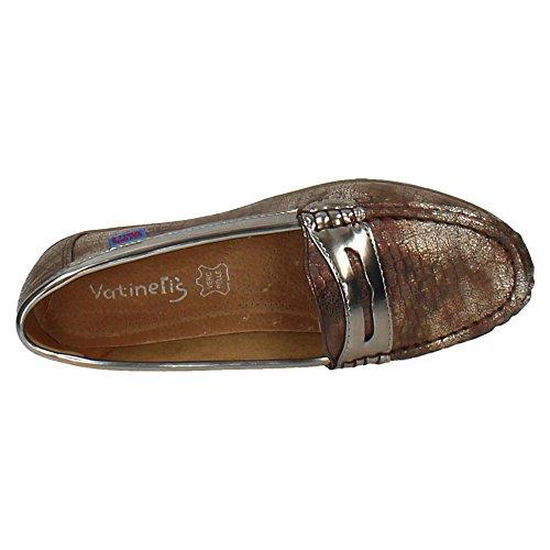 Zapatos Con 358 Mujer Xs Mocasín Zapatop Marrón Cuña t7gY1qtxna