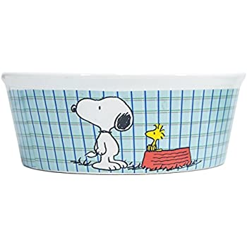 Pet Supplies Peanuts Snoopy Quot All Gone Quot Dog Food Bowl