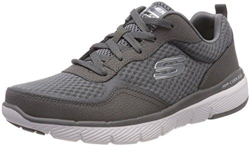 Skechers Flex Charcoal Uomo Grigio 0 Advantage 3 Sneaker charcoal rrvqUPx