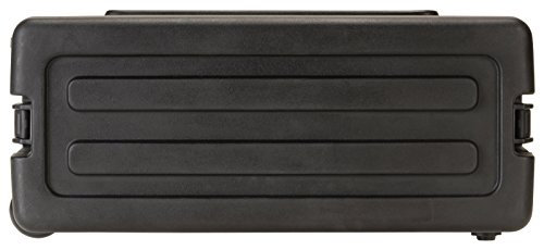 SKB 4U Space Rack with Inline Wheels, TSA Latches, and Handle
