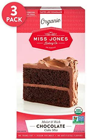 Baking Mixes: Miss Jones Baking Chocolate Cake Mix