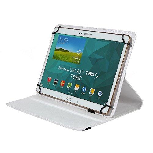Bralexx Universal Tablet-Tasche für Kobo Arc 10 HD (26,3 cm (10 Zoll)) weiß