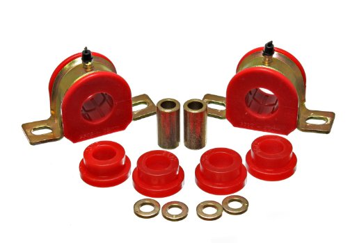 Energy Suspension 3.5215R REAR SWAY BAR BUSHING SET 28MM