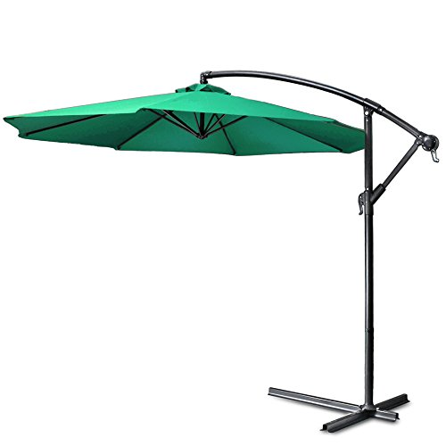 Flexzion Umbrella Cantilever Backyard Furniture