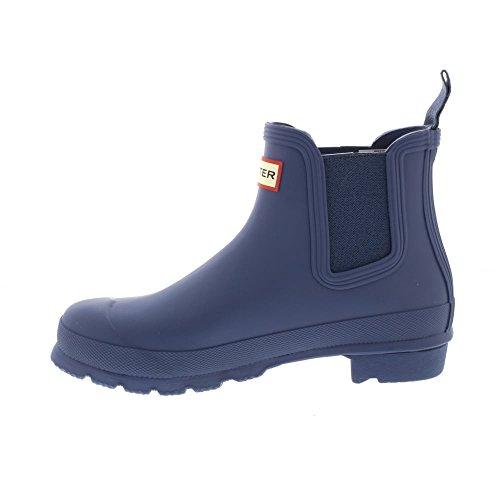 Hunter Womens Original Chelsea Rain Boots Dark Earth Blue 6VcKn6N