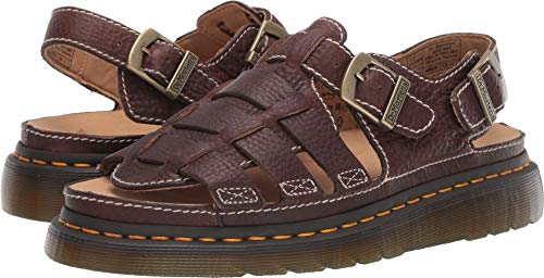 Dr. Martens Men's Arc Sandals, Dark Brown, 7 M US