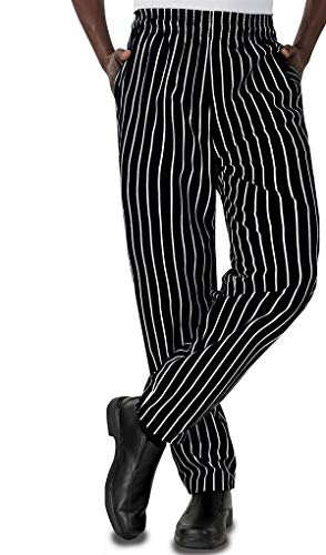 Eagle Baggy Chalk Stripe Chef Pants (M)