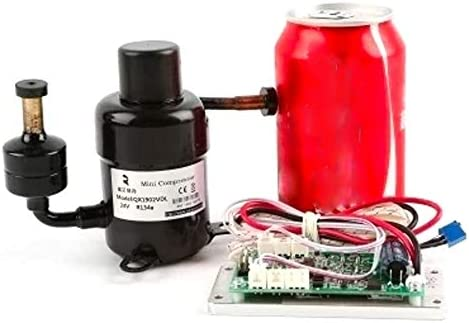 小型可変速度コンプレッサQX1903VDL(48V) 小型で限られたスペースの冷却