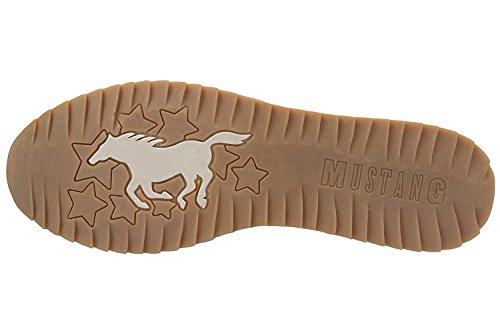 Mustang Damen Slipper - Beige Schuhe in Übergrößen