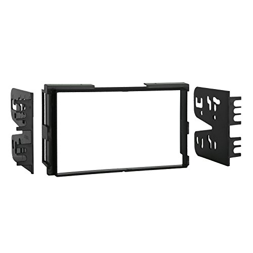 Metra 95-7313 Double DIN Installation Kit for Select 2001-2006 Hyundai Vehicles (Black) (Install Radio Kit)