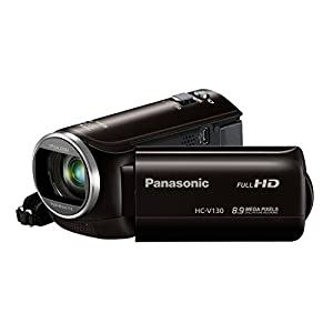Panasonic HC-V130K Full HD 38X Camcorder Video Camera with 3.0-Inch LCD (Black) (Discontinued by Manufacturer)