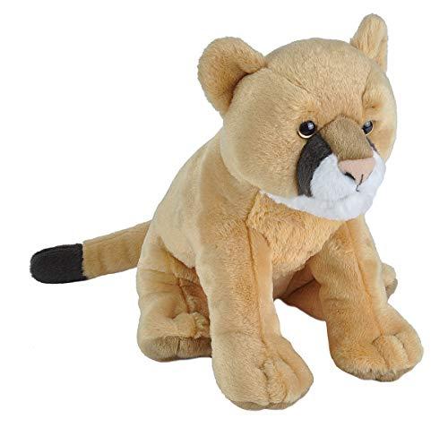 Wild Republic Mountain Lion Plush, Stuffed Animal, Plush Toy, Gifts for Kids, Cuddlekins 12 Inches