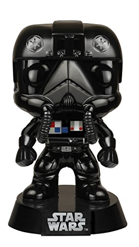 funko pop star wars black chrome tie fighter pilot nycc import it all. Black Bedroom Furniture Sets. Home Design Ideas