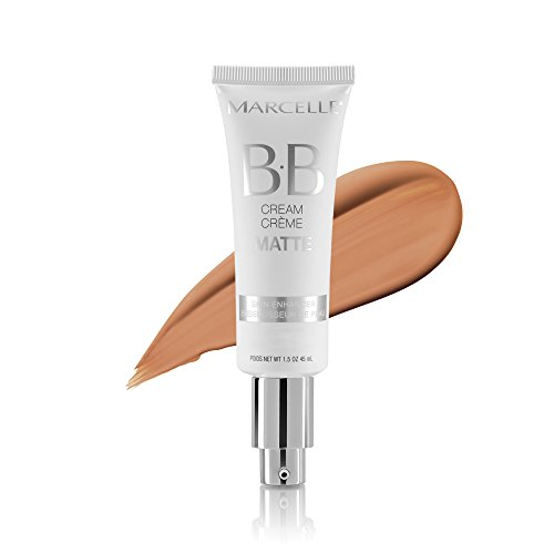 Marcelle BB Cream Matte, Light to Medium, Hypoallergenic and Fragrance-Free, 1.5 fl oz