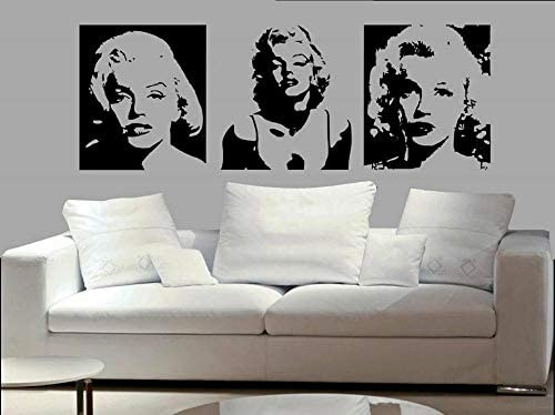 Wall Decals for Living Room, Celebrity Superstar Stickers, Home