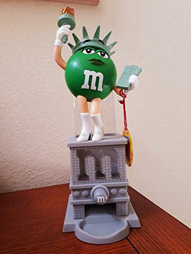 M&M Candy Dispenser Ms. Liberty aka Statue of Liberty with character Ms. Green No Collector's Box