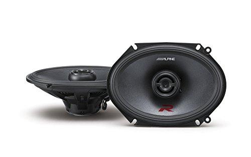 Alpine R-Series 6 x 8 Inch 300 Watt Component 2-Way Car S...
