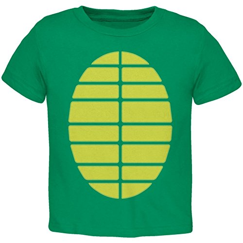 Halloween Turtle Costume Kelly Green Toddler T-Shirt - 4T -