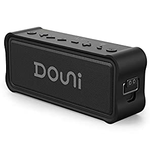 Douni A7 20W Portable Bluetooth Wireless Stereo Speaker with Enhanced Bass  L...
