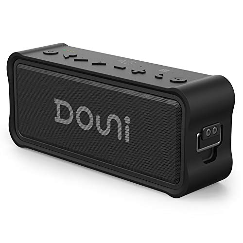 Douni A3 Plus Portable Bluetooth Speakers 20W IPX7 Waterproof Wireless Speakers Built-in TF Card,NFC, Power Bank with Enhanced Bass Long Playing Time for Shower, Beach, Party,Pool,Camping