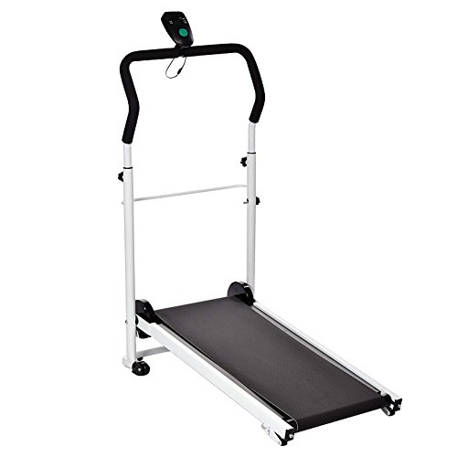 Amdirect New Mute Portable Folding Sliming Treadmill Running Machine
