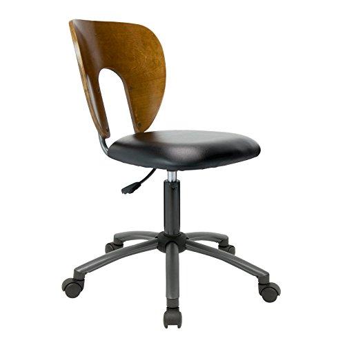 Chair Star Base Pneumatic Seat (Studio Designs Ponderosa Chair in Sonoma Brown 13249)