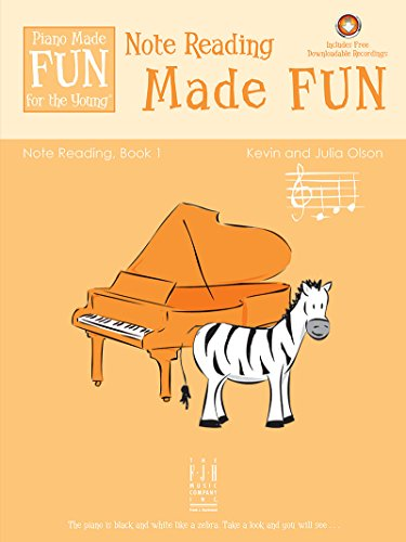 Note Reading Made FUN Book 1