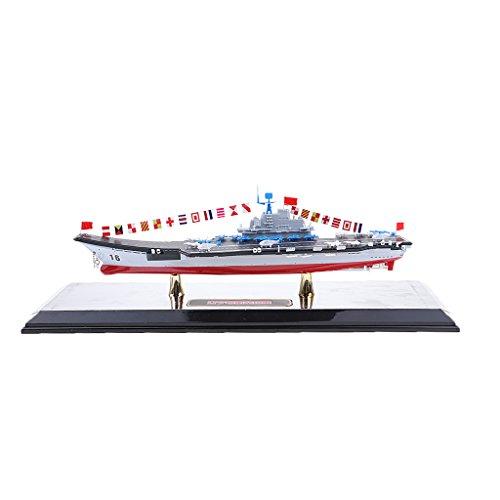 Perfk 1:1000スケール ダイキャスト 合金 航空母艦モデル 船モデル 模型玩具