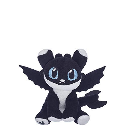 Baby Build A Bear (Build A Bear Workshop How to Train Your Dragon Hidden World - Black & White Nightlight with Blue)