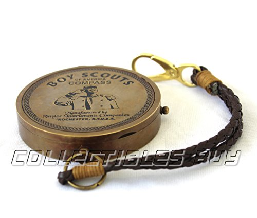 Collectibles Buy American Boy Scout Compass Antique Vintage Brass Compass