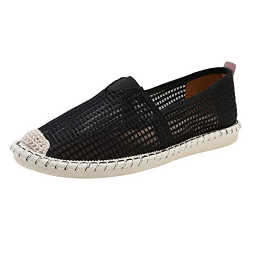 DDKK Sandals New Womens Soft Lady Casual Breathable Hollow Lazy Flat Shoes-Sports Running Slipper Single Fashion Beach - Patent Mens Stripe Sneakers